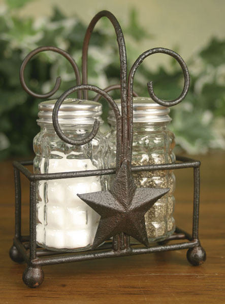 (CT365122) Western Star Salt & Pepper Caddy