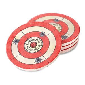 (DM3005050398) Big Shot Target  Coasters - Set of 4
