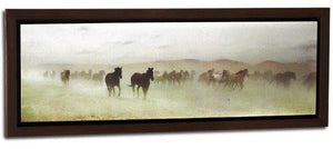 "(DM3005210460) ""Long Dusty Trail"" Western Horse Art"