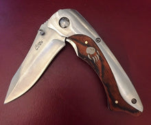 "Load image into Gallery viewer, (DRAWBC) ""Bear Claw"" Air Wing Style Thumb Assist Pocket Knife"