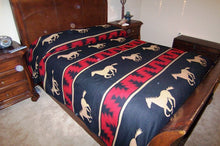 Load image into Gallery viewer, (EP7008-F) Horse Bedspread Red