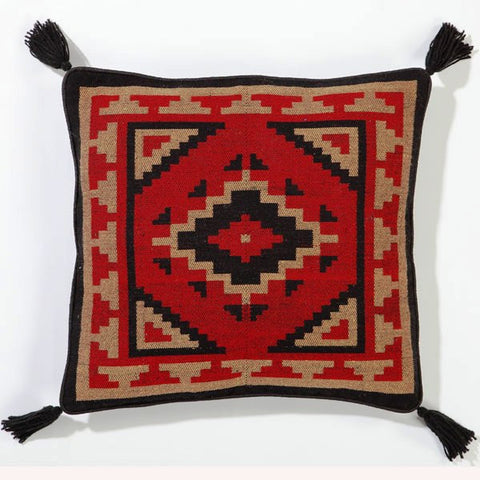 "(EPOBPC3) Southwestern Accent Pillow 18"" x 18"""