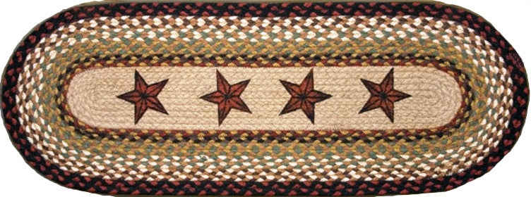 (EROP-019) Barn Stars Oval Patch Runner