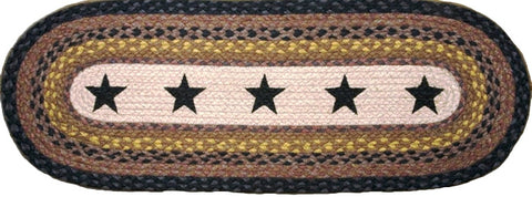 (EROP-099R) Stars Western Oval Patch Runner
