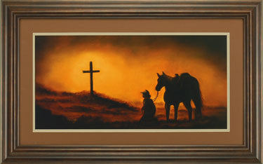 FRAMED WESTERN PRINTS