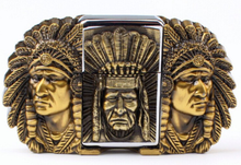 Load image into Gallery viewer, Chief Belt Buckle and Lighter Combo