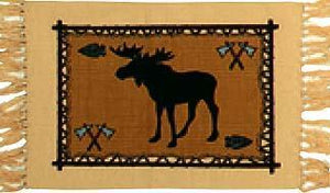 """Moose"" Western Placemat - 13"" x 19"""