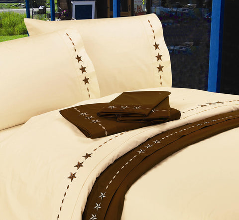 "(HXSW3505) ""Star"" Western Sheet Sets"