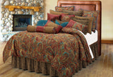 "(HXWS4287K) ""San Angelo"" Western Bedding Ensemble - King"