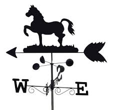 Metal Horse Weather Vane