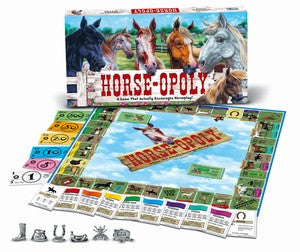Horse-opoly Western Board Game