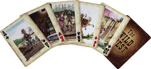 (RE1547) Western Humorous Playing Cards