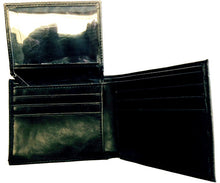 Load image into Gallery viewer, (3DB-WJS155) Justin Black & Hair-On Bi-Fold Wallet