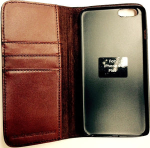 (3DB-JWPH008) Justin Original Workboots Brown iPhone® 6 Plus Phone Case/Wallet