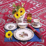 "(TW-RODEO) ""Rodeo"" Western 5-Piece Place Setting"