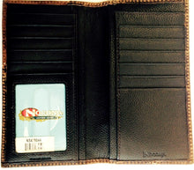 Load image into Gallery viewer, (MFWN5426127) Western Brown & Blue Rodeo Wallet