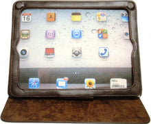 Load image into Gallery viewer, (WFAIPAD1) Western Floral Tan Leather iPad Jacket