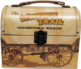 (JT-87-7711) Western Covered Wagon Lunch Box