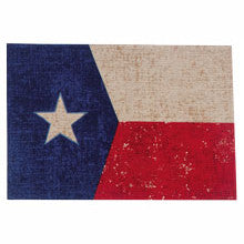 "(KD-R1634) ""State of Texas"" Fabric Placemat"