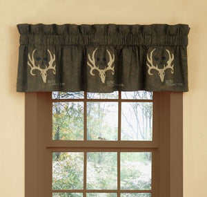 "(KMBCBNV) ""Bone Collector Brown"" Valance"