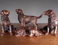 Dogs Sculpture (Set of 4)