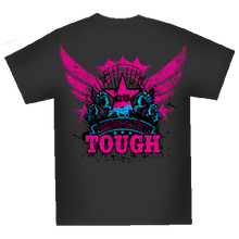 "Load image into Gallery viewer, (MBCG1164) ""Cowgirl Tough"" Cowgirls Unlimited T-Shirt"