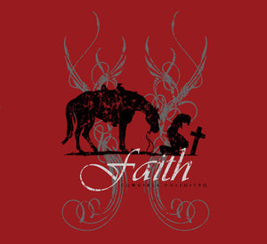 "(MBCH1849) ""Cowgirl Faith"" T-Shirt"