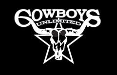 "(MBDV8010) ""Cowboys Unlimited"" High Performance Vinyl Decal"