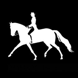 "(MBDV8172) ""Extended Trot"" High Performance Vinyl Decal"