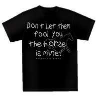 "(MBKDS2129) ""Horse is Mine"" Western Kids T-Shirt"