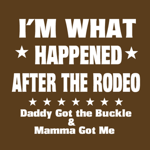 "(MBKDS2135) ""I Happened"" Western Kids T-Shirt"
