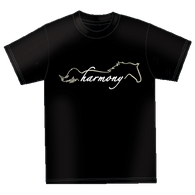 "(MBUH7588) ""Harmony"" Horses Unlimited T-Shirt"
