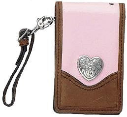 (MFW06006273) Ladies' Western Pink Cell Phone Holder