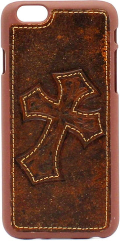 (MFW0640802) Western iPhone 6 Snap-On Phone Case with Diagonal Cross