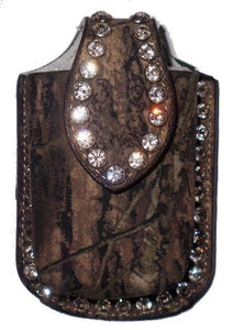 (MFW06808222) Mossy Oak Camouflage Western Cell Phone Holder