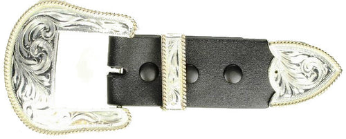 (MFWC10823) Western 3-Piece Buckle Set