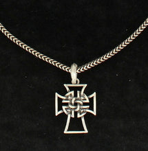 Load image into Gallery viewer, (MFW32118) Men's Western Celtic Cross Necklace