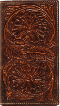 (MFWA3524602) Western Brown Rodeo Wallet