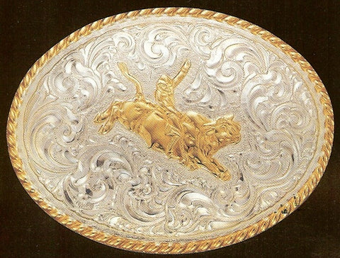 Quot Bull Rider Quot Crumrine Belt Buckle Wild West Living