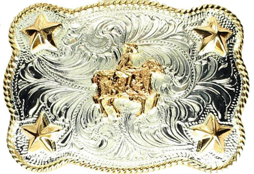 (MFWC10590) Children's Silver Buckle