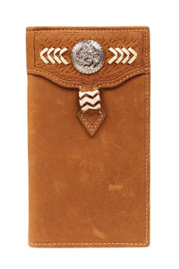 (MFWN5450044) Western Men's Rodeo Wallet/Checkbook Cover by Nocona
