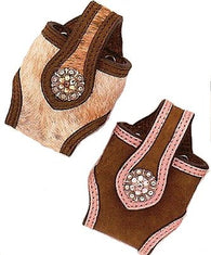(MFWN74606) Western Cell Phone Holders Hair-on-Hide
