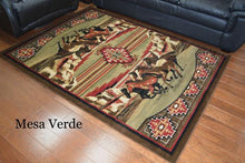 "Load image into Gallery viewer, (MR-AD6848-5X8) ""Mesa Verde"" Western Area Rug - 5'3"" x 7'3"""