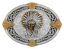 Load image into Gallery viewer, (MS24410) Native Spirit Now High Plains Cardinal Points Belt Buckle