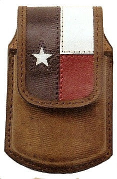 (MS25127) Texas Star Razor Western Cell Phone Holder