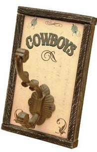 "(MS70746) ""Cowboys"" Towel Hook"