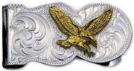 (MSMCL5) Western Eagle Money Clip
