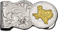 (MSMCL7-22TX) Western State of Texas Money Clip