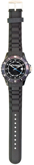 "(MSMT921) ""Midnight on the Range"" Western Sport Watch by Montana Silversmiths"