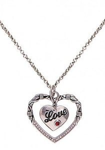 """A Cowgirl's Heart of Love"" Western Necklace"